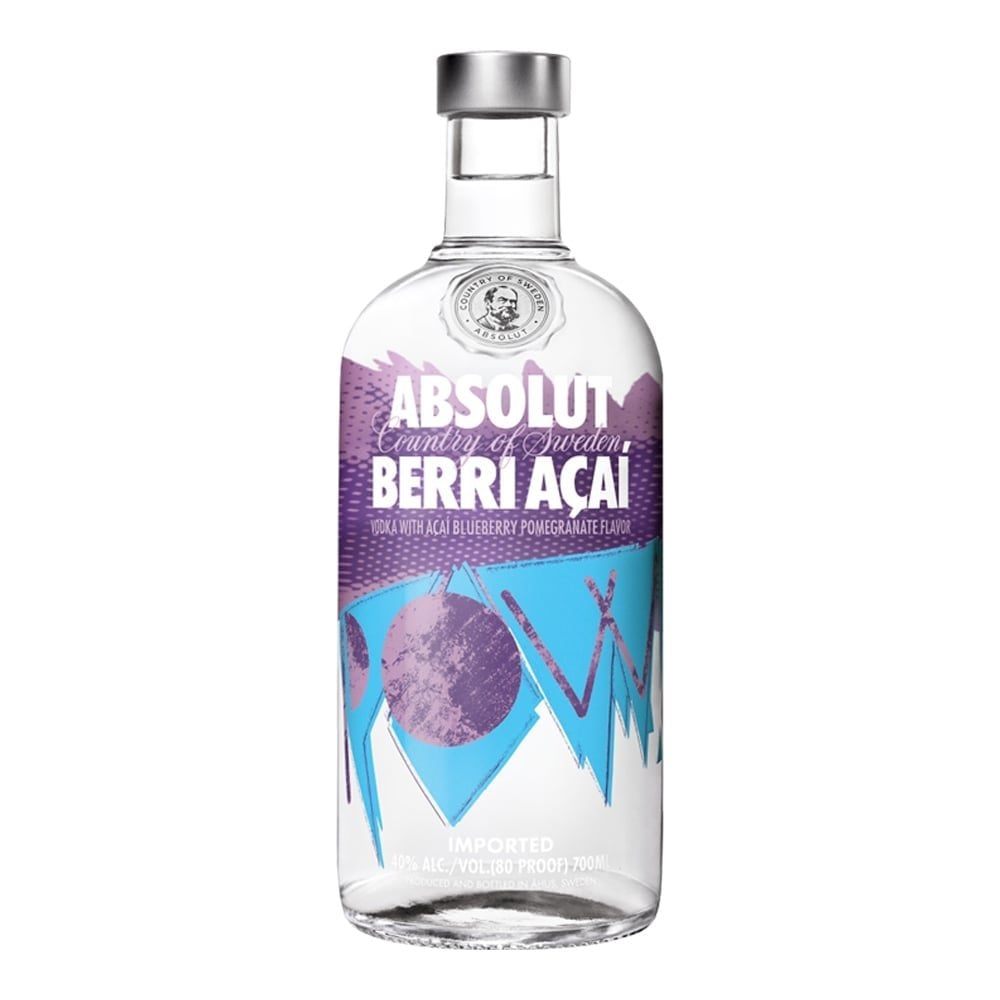 Absolut Acai Berry Vodka