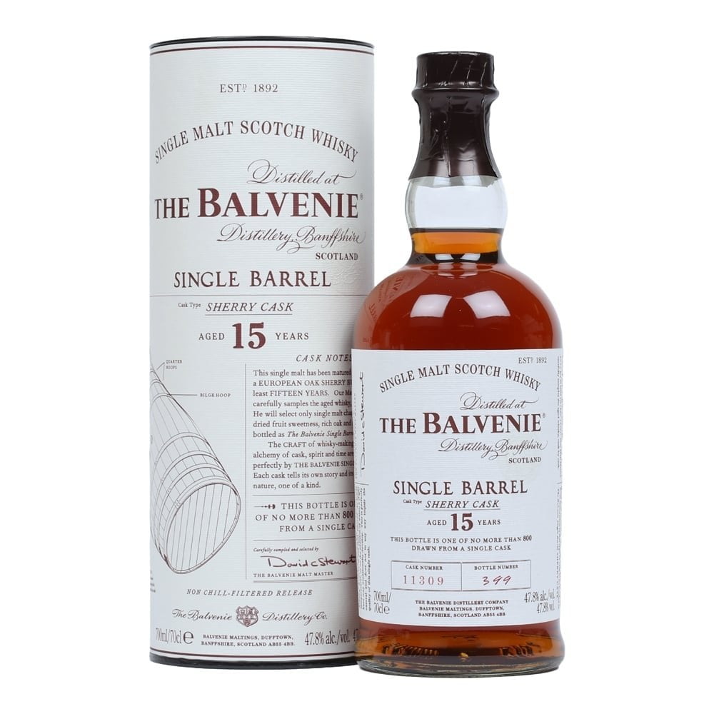 Balvenie single barrel sherry