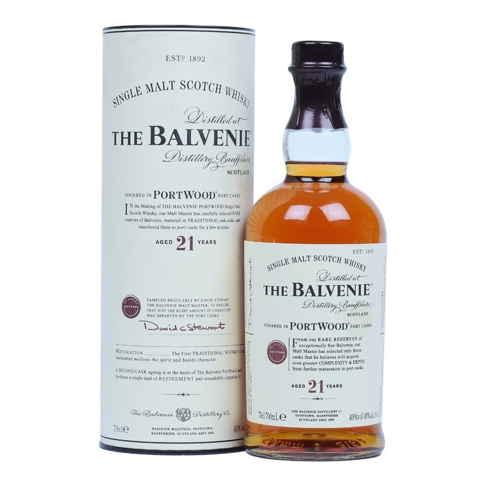 scotch whisky balvenie 21
