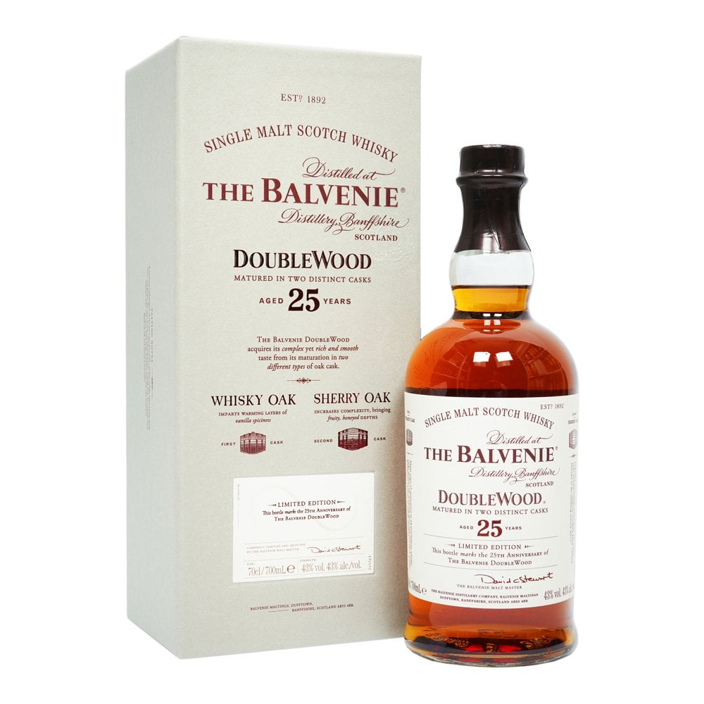 a8841076e7d Balvenie 25 Year Old - DoubleWood - Whisky from The Whisky World UK