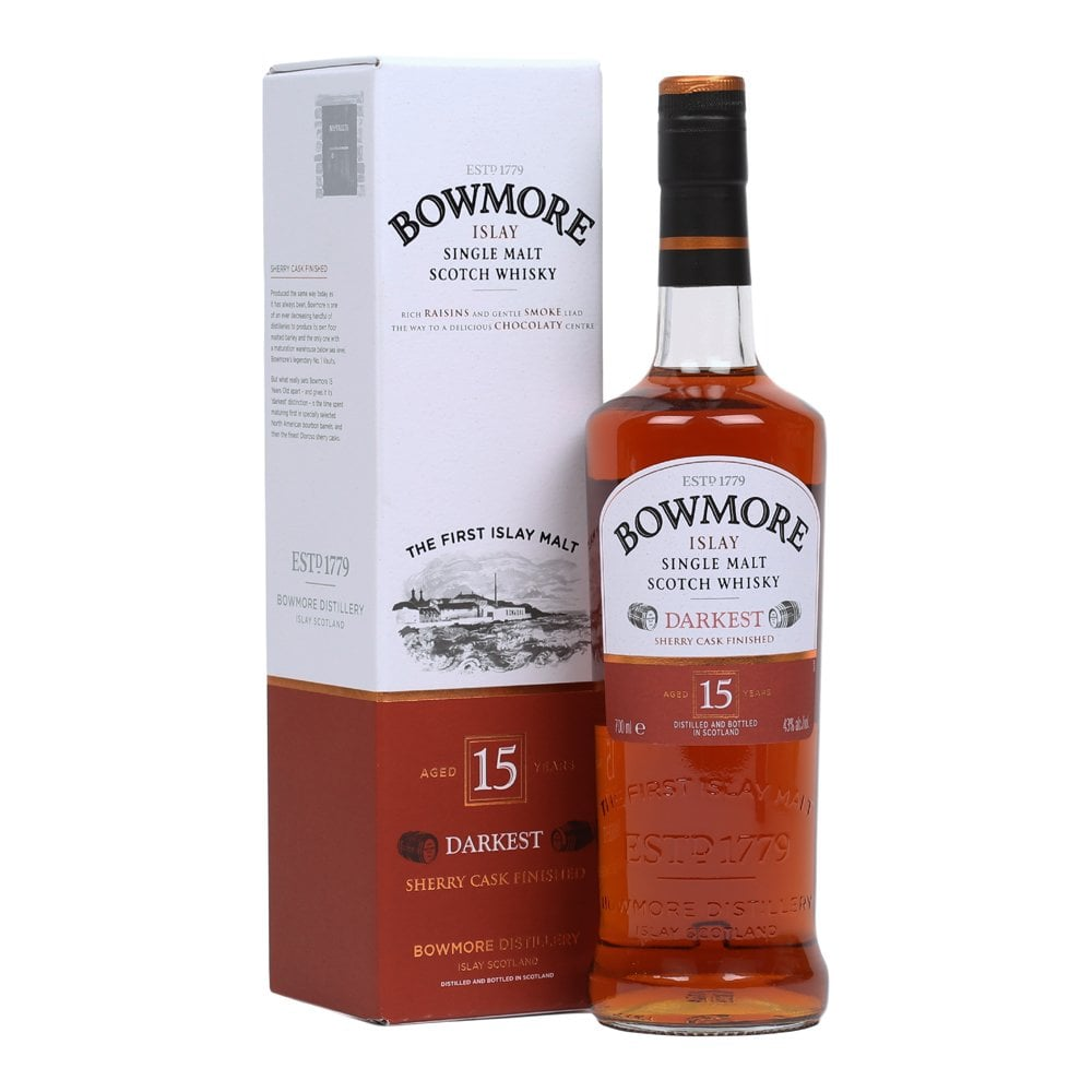 8dd735543b1 Bowmore 15 Year Old Darkest - Whisky from The Whisky World UK
