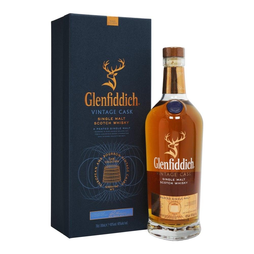 GLENFIDDICH VINTAGE CASK SINGLE MALT SCOTCH WHISKY, 70CL
