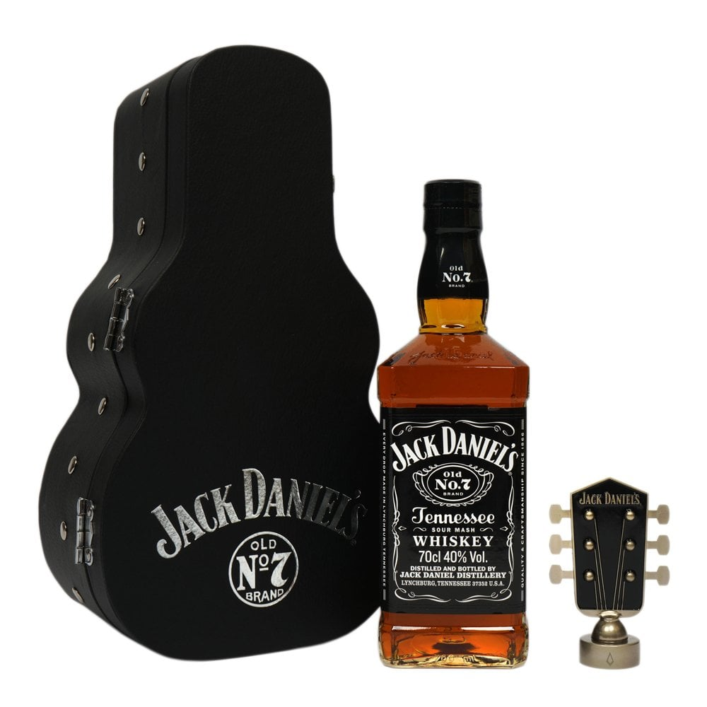 6dfe56abca Jack Daniel s No. 7 - Guitar Case Gift Pack - Gift Ideas from The ...