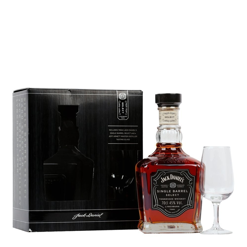 Jack Daniels Single Barrel - Glass Gift Pack