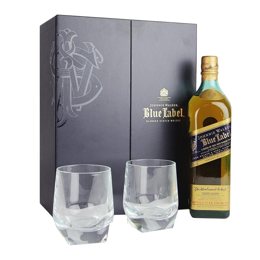Johnnie Walker Blue Label - 2 Glasses Gift Pack