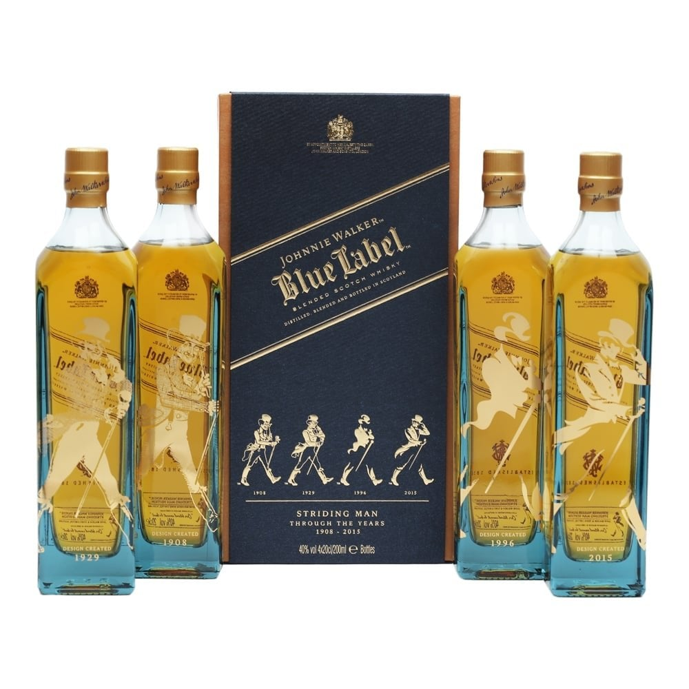 8712fd0437a8 Johnnie Walker Blue Label - Striding Man Edition - 4x20cl - Whisky ...