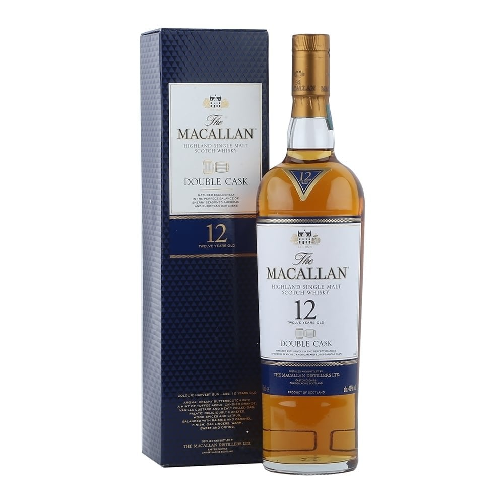 a3081479092 Macallan 12 Year Old - Double Cask - Whisky from The Whisky World UK