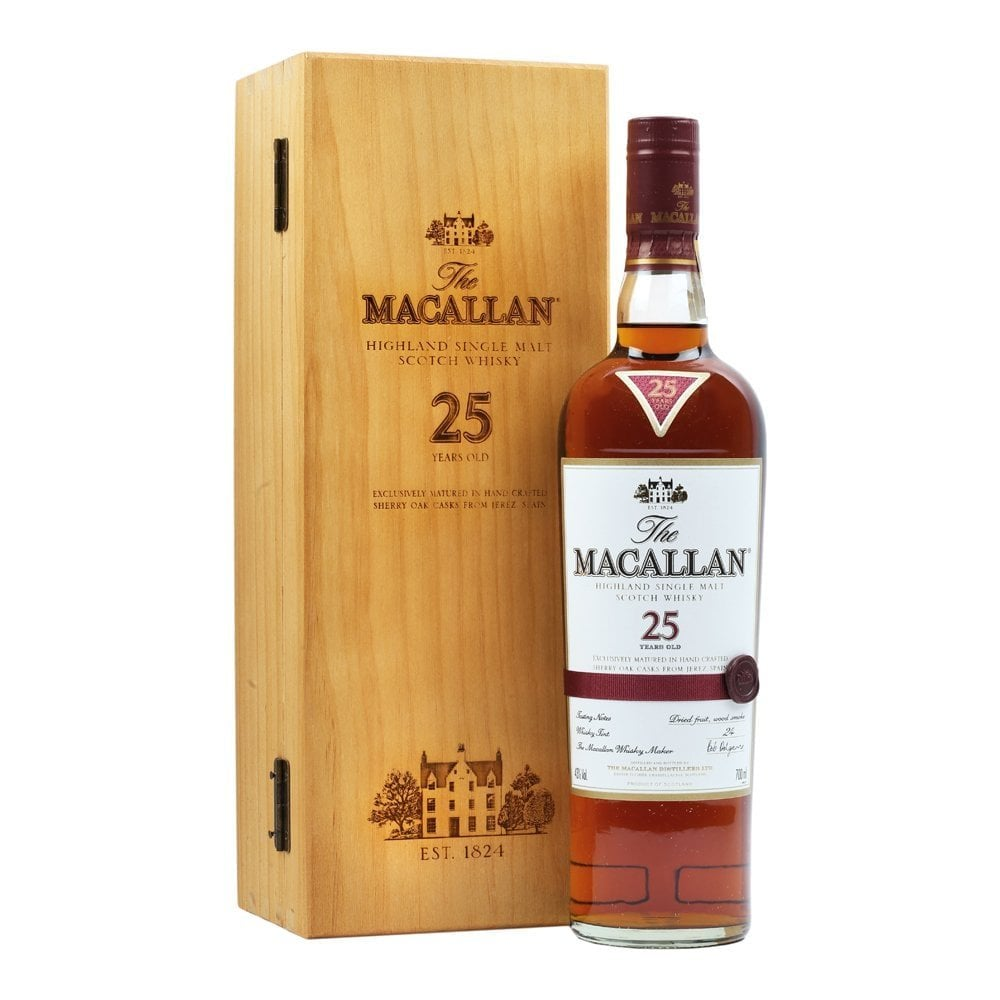 Macallan 25 Year Old - Sherry Oak