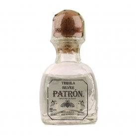 Patron Silver Tequila - 5cl Miniature