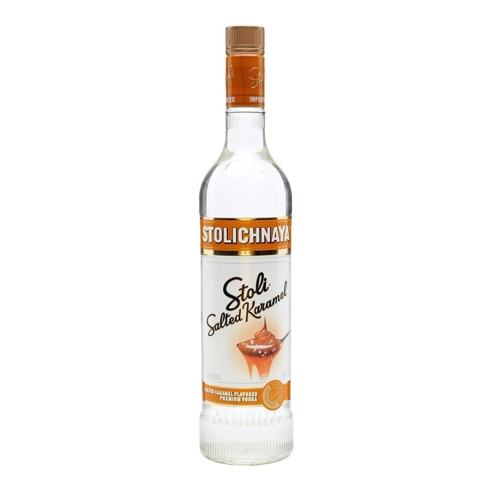 Stolichnaya Salted Caramel Vodka - Spirits from The Whisky ...